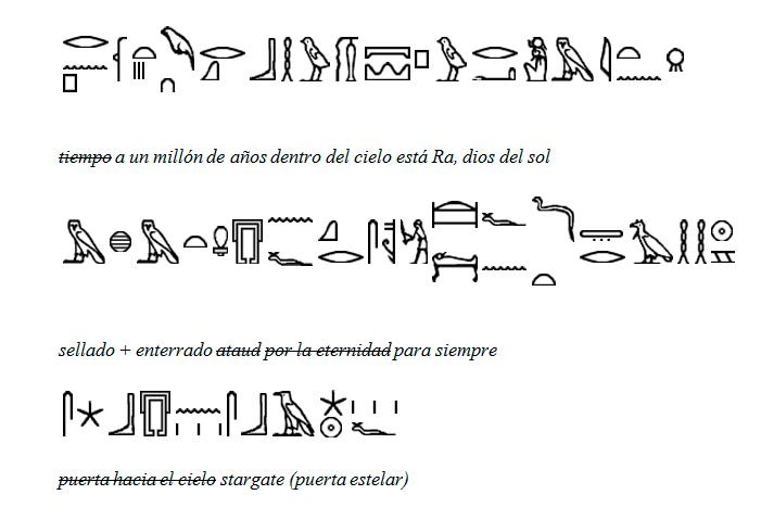 jeroglificos