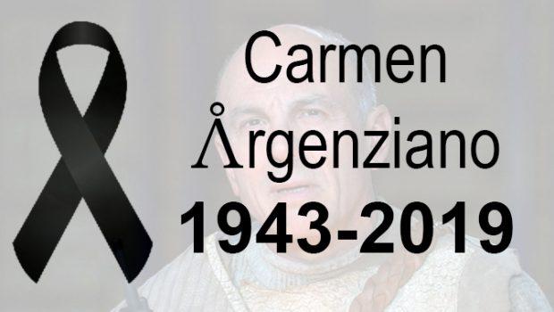 RIP Carmen Argenziano